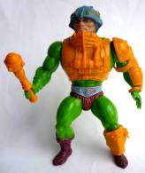 FIGURINE MAITRES DE L´UNIVERS - HE-MAN -  MOTU - MASTER OF UNIVERSE - MAITRE D´ARMES - MAN AT ARM (1) - Maîtres De L'Univers