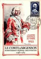 FDC : Journée Du Timbre 14/03/1953 Montluçon N°940 - Cartas Máxima