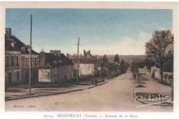 89 - Yonne - Seignelay - Avenue De La Gare - Avallon