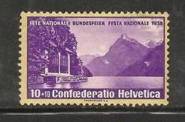 SWITZERLAND 1938 Used Stamp(s) Pro Patria 326 #3667 - Pro Patria