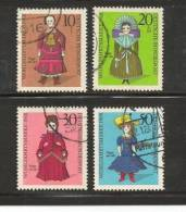 GERMANY 1968 Cancelled Stamp(s)  Welfare Dolls 571-574 - [7] Federal Republic