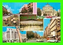 BUCURESTI, ROMANIA - 5 MULTIVIEWS - OLD CARS - - Roumanie