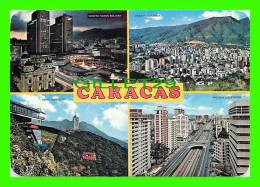CARACAS, VENEZUELA - 4 MULTIVIEWS - TRAVEL IN 1985 - - Venezuela