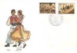 Jugoslawien / Yugoslavia  - Mi-Nr 1883/1884 FDC (C434) - FDC