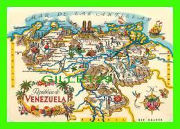 MAPS - REPUBLICA DE VENEZUELA - TRAVEL - - Cartes Géographiques