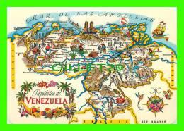MAPS - REPUBLICA DE VENEZUELA - - Cartes Géographiques