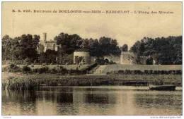 CPA, Pas-de-Calais, Hardelot, L´Etang Des Miroirs, Environs De Boulogne-sur-Mer - France