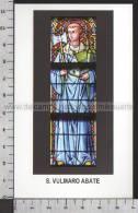 Xsa-10926 S. San VULMARO ABATE WULMER BOULOGNE SUR MER HAUTMONT WIERE AU BOIS Santino Holy Card - Religion & Esotérisme