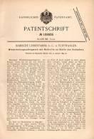 Original Patentschrift - Badische Uhrenfabrik AG In Furtwangen , 1899 , Schlagwerk Für Uhren , Uhr , Uhrmacher !!! - Antike Uhren