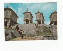 Portugal Cor 20329 - ARCOS DE VALDEVEZ - VISTA TÍPICA DO SOAJO - ESPIGUEIROS COSTUMES - Viana Do Castelo