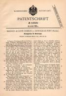 Original Patentschrift - M. Eudelin In Joinville Le Pont , 1902 , Getriebe Für Automobile , Motorwagen !!! - Auto's