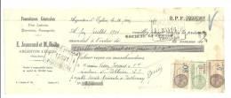 Lettre De Change, Mandat, Fournitures Générale E. Jouneaud Et M. Bodin - Argenton L'Eglise (79) - 1930 - Lettres De Change