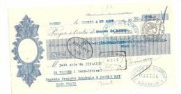 Lettre De Change, Mandat, Laiterie De Riblaire - Saint-Varent (79) - 1930 - Lettres De Change