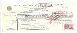 Lettre De Change, Mandat, Sté De Combustibles Delmas-Vieljeux - La Rochelle (17) - 1952 - Lettres De Change