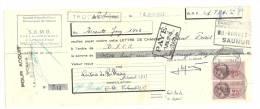 Lettre De Change, Mandat, S.A.M.O. - Thouars (79) - 1943 - Lettres De Change
