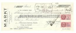 Lettre De Change, Mandat, Markt & Co - Paris (75) - 1949 - Lettres De Change
