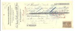 Lettre De Change, Mandat, Cie Anciens Ets LAbbé Frères - St-Florent (18) - 1925 - Lettres De Change