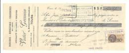 Lettre De Change, Mandat, Victor Grossein - Tours (37) - 1931 - Lettres De Change