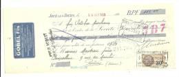 Lettre De Change, Mandat, Goble Fils - Joué-les-Tours (37) - 1928 - Lettres De Change
