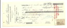 Lettre De Change, Mandat, Paumellerie Electrique - Brive (19) - 1923 - Lettres De Change