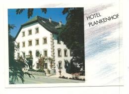 Cp, Commerce, Hotel-Pensio Plankenhof - Autriche, écrite - Commerce