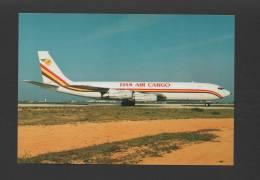 POSTCARD AIRCRAFT BOEING 707 DAS AIR CARGO AIRPLANES AVIONS AVIONES - 1946-....: Moderne