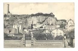 Cp, 37, Rochecorbon, Les Falaises Habitées, Voyagée 1934 - Rochecorbon