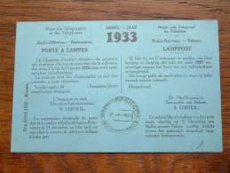 RADIO-OMROEP - TAKSEN ( Lamppost Poste De Lampes ) Anno 1933 ( Zie Foto´s Voor Details ) !! - Radio