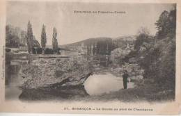 BESANCON (.le Doubs Au Pied De Chaudanne  ) - Besancon