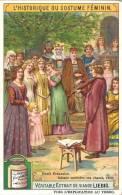Image Publicitaire - LIEBIG - L'historique Du Costume Féminin - Henri Frauenlob Faisant Entendre Ses Chants - Liebig