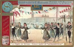 Image Publicitaire - LIEBIG - Grand Ballet De L. Manzotti - La Régate De Venise - Liebig