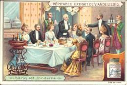 Image Publicitaire - LIEBIG - Banquet Moderne - Liebig