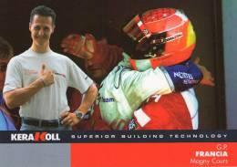 G.P.  FRANCIA   , Michael Schumacher* - Unclassified