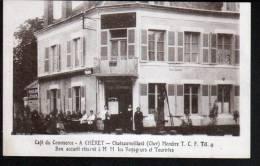 18 - CHATEAUMEILLANT - CAFE DU COMMERCE - A. CHERET - Châteaumeillant