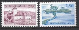 Finlande 1967 N° 590/591 Série Courante