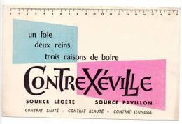 Buvard - Contrexéville - Buvards, Protège-cahiers Illustrés