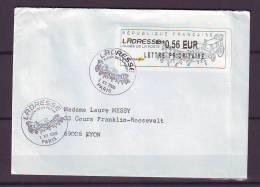 FRANCE. TIMBRE. LETTRE. ADRESSE MUSEE POSTE. DILIGENCE. RELAIS. 42. SAINT ETIENNE. PARIS. LYON - Marcophilie (Lettres)