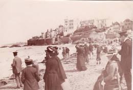 Photo Originale 1900 SAINT MALO - La Plage (A23) - Saint Malo