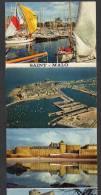 DF / BANDE ACCORDEON 8 MINI PHOTOS  / FRANCE / 35 ILE ET VILAINE  / SAINT-MALO - Vieux Papiers