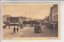 F 85400 LUCON, La Place Des Acencias, 1939, Franz. Militärpost - Lucon