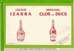 BUVARD : Liqueur ISARA  ARMAGNAC CLOS Des DUCS Rouge - Liquor & Beer