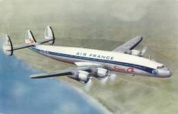 AIR FRANCE - Super G Constellation - 1946-....: Ere Moderne