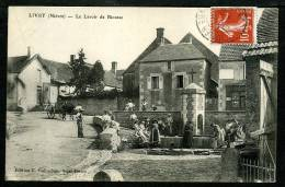 58 - LIVRY - Le Lavoir De Riousse - BELLE ANIMATION - France