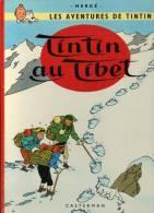 TINTIN AU TIBET B39 - Tintin