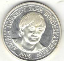ALLEMAGNE, MEDAILLE, ANGELA  MERKEL 2006.   (MM01) - Non Classés