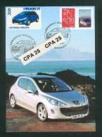 Lancement De La Peugeot 308 Sochaux Le 22 Septembre 2007 - Personnalisé 3744 A Peugeot 308 - Personalizzati