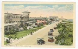 Aerial View, Atlantic Avenue, Daytona Beach, Florida, 10-20s - Daytona
