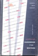 PRENTICE - HALL HANDBOOK FOR WRITERS - GLEN LEGGETT - C. DAVID MEAD - WILLIAM CHARVAT THIRD EDITION - Korrespondenz