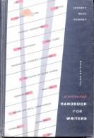 PRENTICE - HALL HANDBOOK FOR WRITERS - GLEN LEGGETT - C. DAVID MEAD - WILLIAM CHARVAT THIRD EDITION - Writing