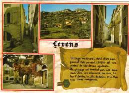 06.- LEVENS. Multivues . Village Médiéval Doté D'un équipement Très Poussé.... - Autres Communes